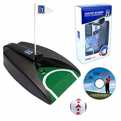 PGA TOUR Auto Putt Returner - Putting Golf Practice - Portable Home & Office Use
