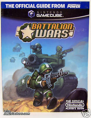 Battalion Wars (GameCube) Strategy Guide RARE OOP!!