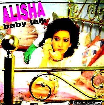 "12"" - Alisha - Baby Talk (Electro & Breackbeat) Spanish Edit. 1985, Mint, Listen"