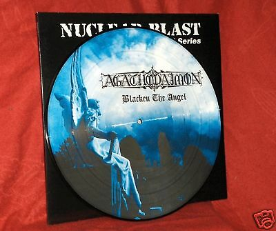 AGATHODAIMON - Blacken The Angel (LP Picture Disc)