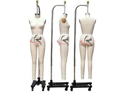Professional Female Working Dress form, Mannequin,Full Size 6, w/legs+ARM