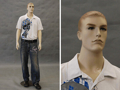 Male Mannequin Manequin Manikin Dress Form Display #MD-7001F2