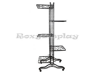 5 Shelf Vertical Displayer Clothing Clothes Racks Display Stands Rack #TY-908