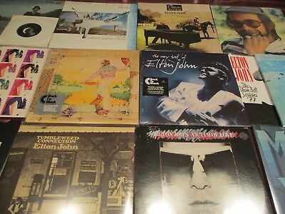 Elton John Yellow Brick Captain & The Kid Best Of 15 Audiophile Lp's +5Lp's+45'S
