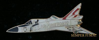 AUTHENTIC F-102 DELTA DAGGER US AIR FORCE HAT PIN AFB PILOT AIR CREW WOW