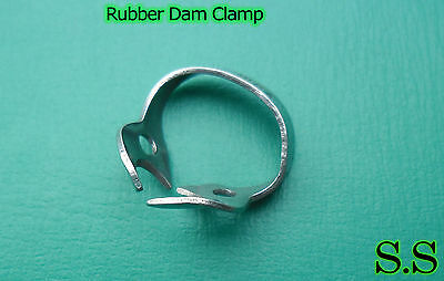 50 Pcs Endodontic Rubber Dam Clamp