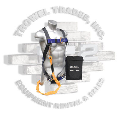 Elk River Harness And Lanyard Fall Protection Kit CP+