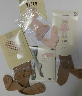 New Bloch Ballet Adaptatoe Tights Pink Lt Tan Ch Adult T0935G T0935L