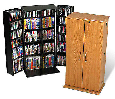 514 CD 320 DVD Storage Cabinet / Rack with Lock  - NEW