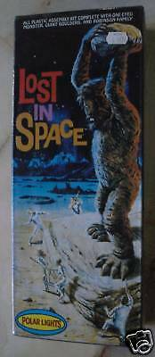 LOST IN SPACE MODEL KIT POLAR LIGHTS ONE-EYED MONSTER