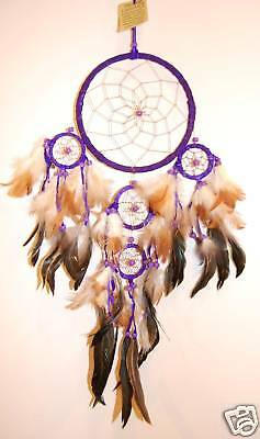 Traumfänger Dreamcatcher Rot 16x60cm dcle16 tri RO