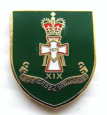 The Green Howards Military Lapel Army Pin Badge In Free Gift Pouch Mod Approved