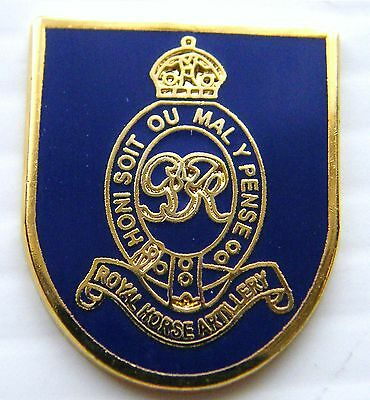 The Royal Horse Artillery Military Lapel Army Pin Badge Free Gift Pouch Mod Appr