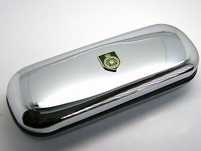 The Royal Green Jackets Army Military Badge Chrome Pen Glasses Darts Case