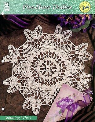 Five-Hour Doilies crochet pattern leaflet Ice Crystal Doily