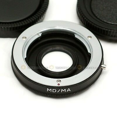 Minolta MD MC Lens to Sony MA Alpha Mount Adapter D-SLR