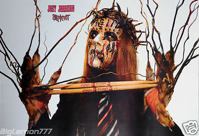 JOEY JORDISON - SLIPKNOT Nine Lives Music Poster 24x35""