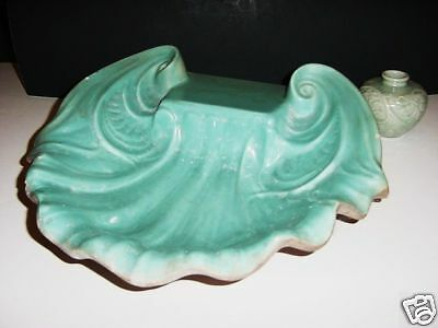 OLD MISSION TILE CATALINA POTTERY SHELL TURQUOISE BIG