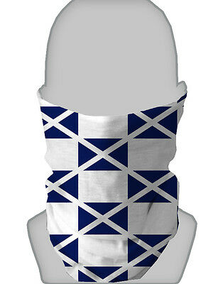 Scotland Flag Design Scottish Scarf Necktube Neck Warmer Snood L&s Prints