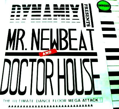 """12"""" - Dynamix Presents Mr. Newbeat And Doctor (Megamix) NUEVO * NEW, STOCK STORE"""