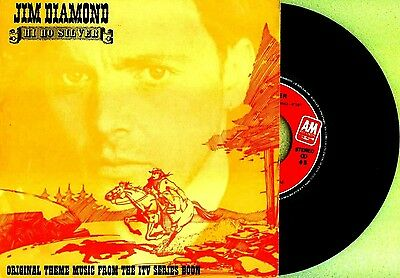 "7"" - Jim Diamond - Hi Ho Silver (POP ROCK) NUEVO - NEW, STOCK STORE"