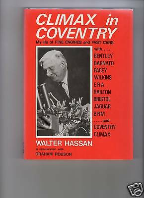 Climax In Coventry By Walter Hassan