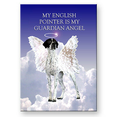 ENGLISH POINTER Guardian Angel FRIDGE MAGNET New DOG