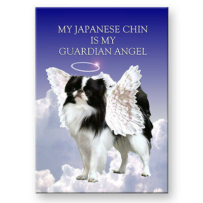JAPANESE CHIN Guardian Angel FRIDGE MAGNET New DOG