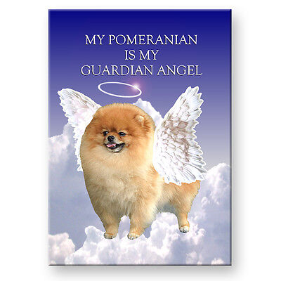 POMERANIAN Guardian Angel FRIDGE MAGNET New DOG Pet Loss