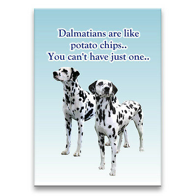 DALMATIAN Can't Have Just One FRIDGE MAGNET New DOG