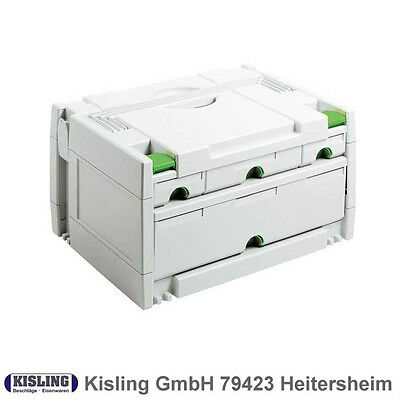 Festool Systainer SYS 3-Sort / 4 # 491522