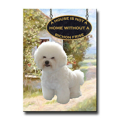 BICHON FRISE House Is Not A Home FRIDGE MAGNET New DOG