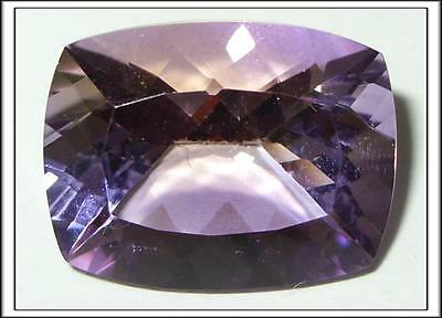 25.12ct Natural Bolivian Blended Ametrine Cushion Cut