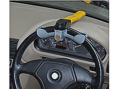 steering wheel lock HEAVY DUTY fits most car anti theft