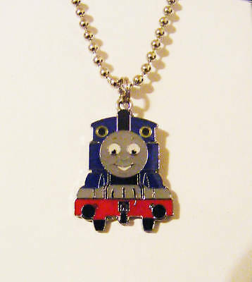 Thomas the Tank Or Percy  Thomas and friemnds thomas the train Childs Necklace