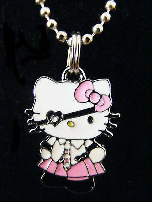 Cute Heart Eye Patched Hello Kitty Pirate  many colors