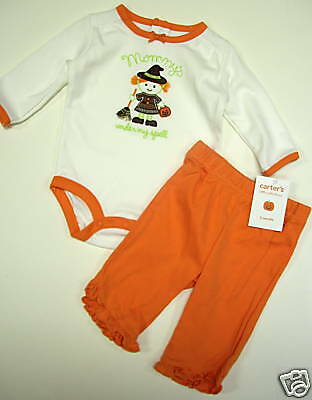 NWT CARTER/'S HALLOWEEN MOMMY/'S UNDER MY SPELL SET 3 mo