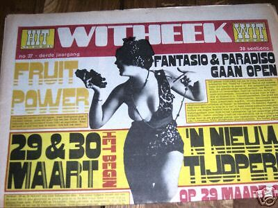 Witheek  # 27 '68 Dutch Psych Freakbeat Music Mag