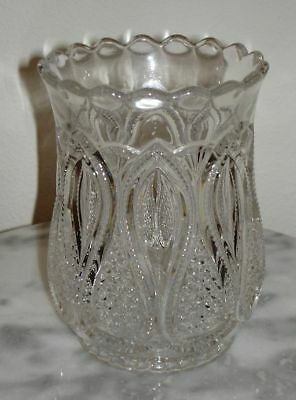 New Jersey Loops & Drops Celery vase, pattern glass circa: 1891