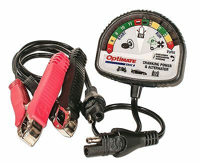 TS120 Optimate Test - battery and charging system tester (OPT000)