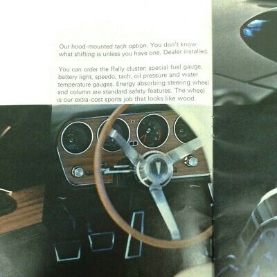1968 Pontiac GTO & Firebird Original Wood Steering Wheel Kit
