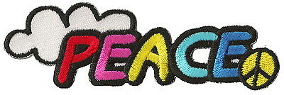 Patch écusson patche Paix Peace petit thermocollant