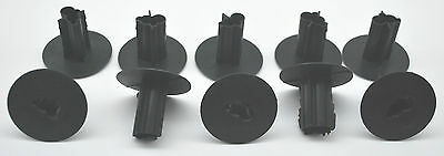 BLACK W// KNOCKOUT SVI 65-FTB6DB LOT 1000 DUAL FEED THRU BUSHING FOR RG-6 CABLE