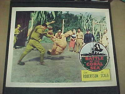 BATTLE OF THE CORAL SEA, orig 1959 LC #4 (martial arts)