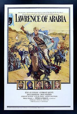 LAWRENCE OF ARABIA * CineMasterpieces ORIGINAL MOVIE POSTER STYLE A CAMEL 1962