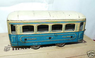 Wagon  Ancien Metal Jep Unis France Pullman