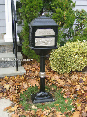 Beautiful Cast Mailbox - Gaines Classic Series Mail box - 12 color/accent combos