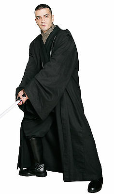 Star Wars Emperor Palpatine Darth Sidious Robe Cosplay Costume Black{DD2Y}