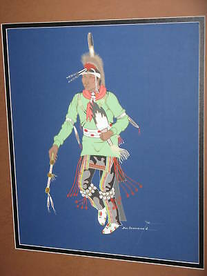 Donald Henry Secondine Jr. Original Painting /cherokee