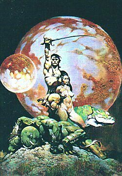 Frazetta Series 1 Set Of 90 Cards